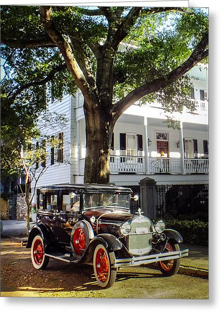 Charleston Vintage Greeting Card