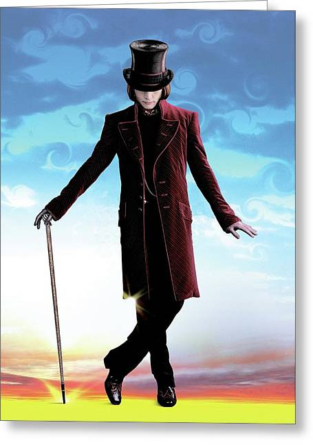 Charlie And The Chocolate Factory 2005 Greeting Card