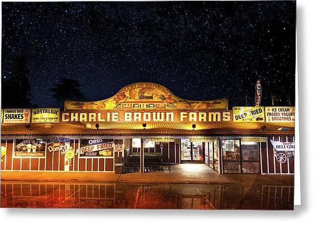 Charlie Brown Farms Greeting Card