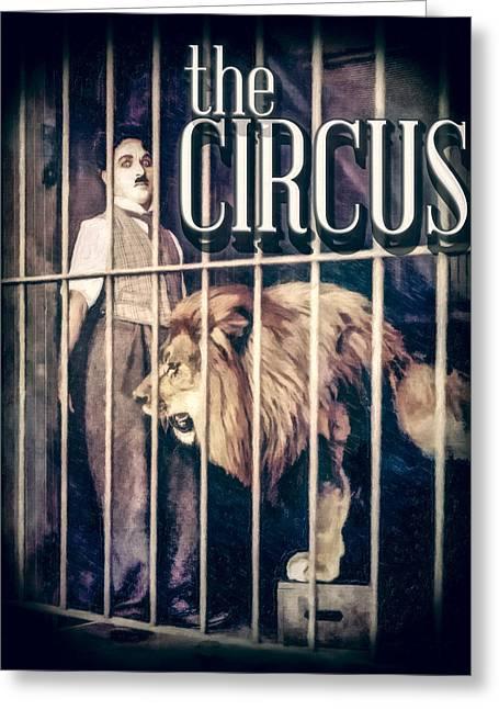 Charlie Chaplin - The Circus Greeting Card