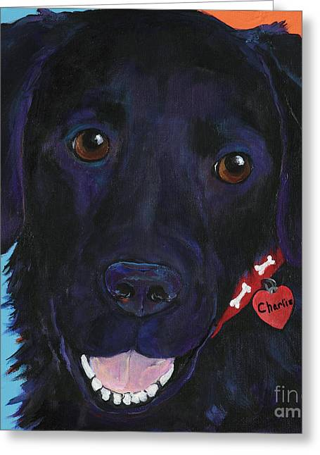Charlie Greeting Card