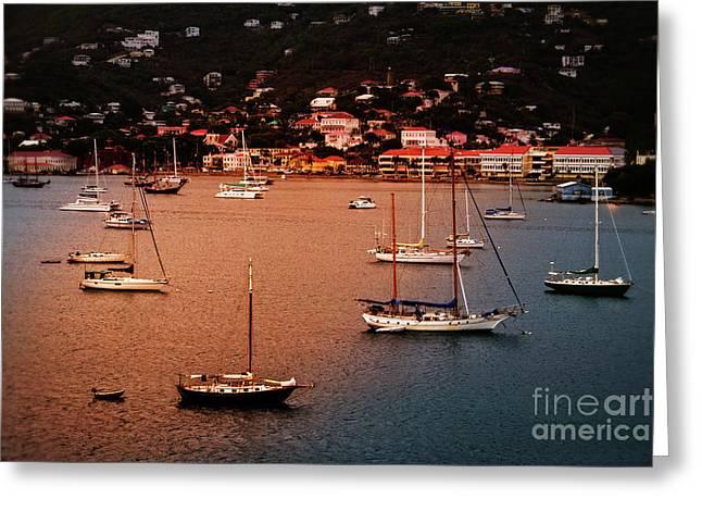 Charlotte Amalie, St. Thomas Greeting Card by Jarrod Erbe