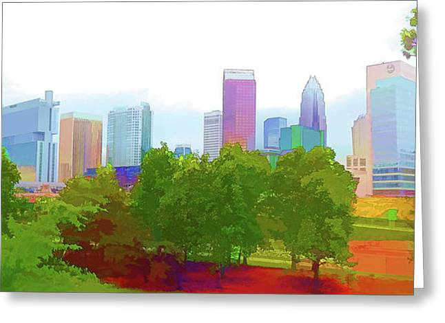 Charlotte Daytime Colors Greeting Card by Garland Johnson