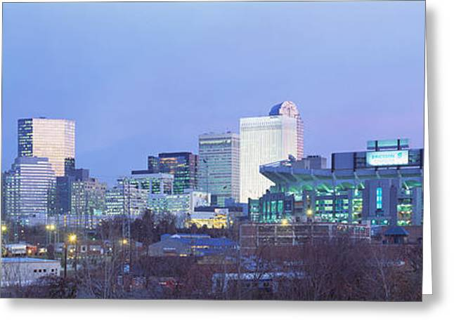 Charlotte North Carolina Usa Greeting Card