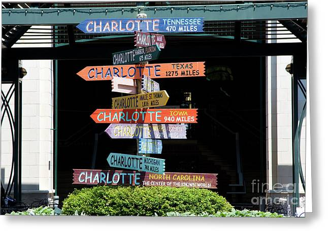 Charlotte Signs Greeting Card