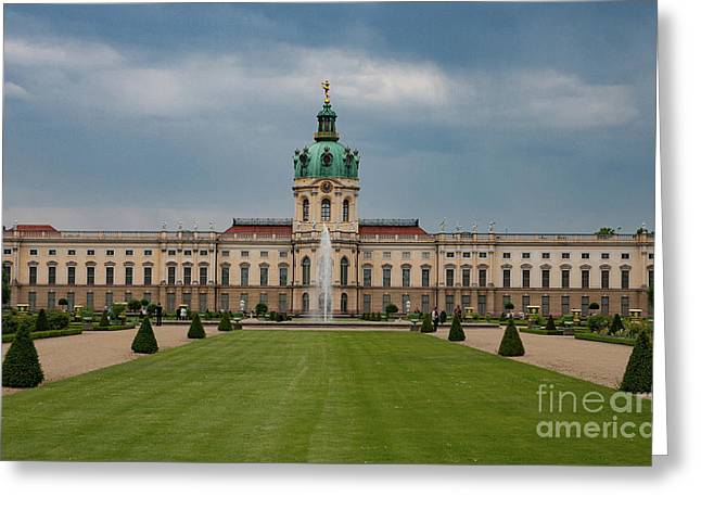 Charlottenburg Palace Greeting Card by Nichola Denny