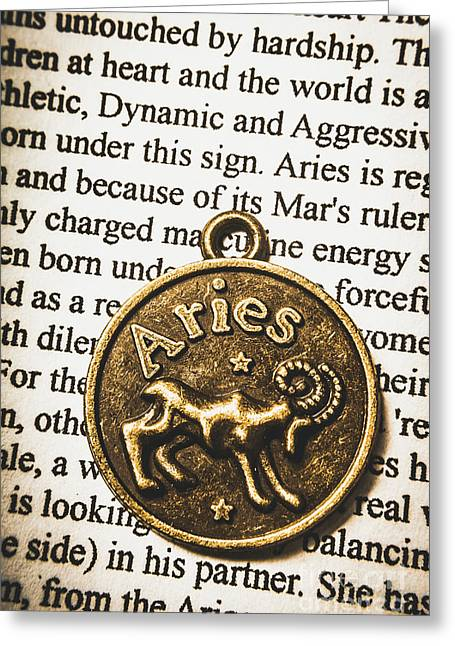 Charm Of Aries Greeting Card by Jorgo Photography - Wall Art Gallery
