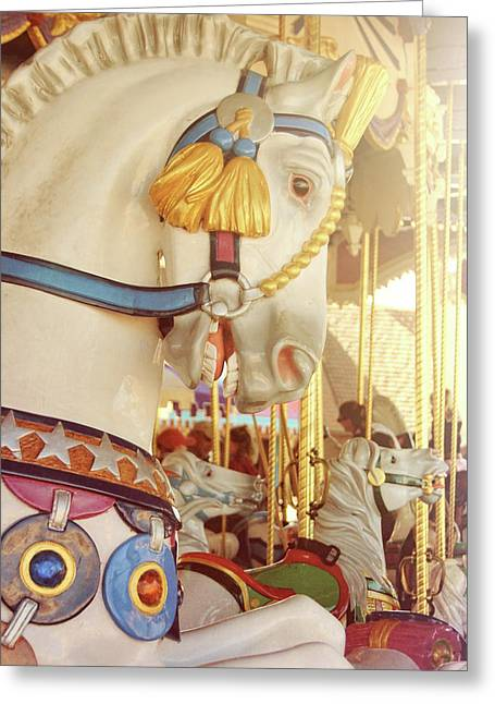 Charming Chariot Greeting Card by JAMART Photography