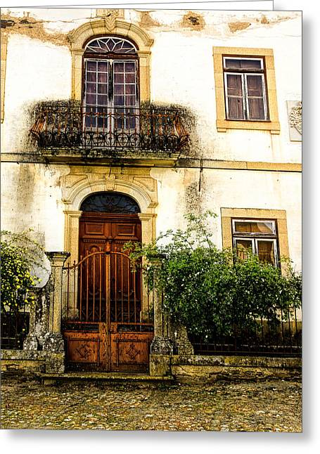 Greeting Card featuring the photograph Charming House In Portugal by Marion McCristall