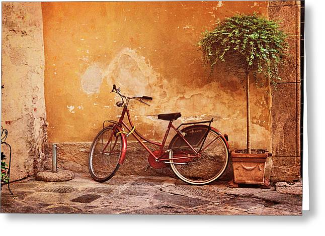 Charming Lucca Greeting Card
