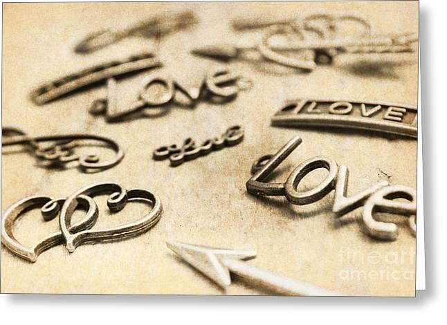 Charming Old Fashion Love Greeting Card
