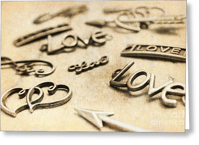Charming Old Fashion Love Greeting Card