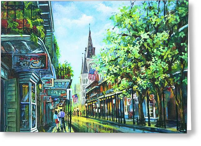 Chartres Afternoon Greeting Card