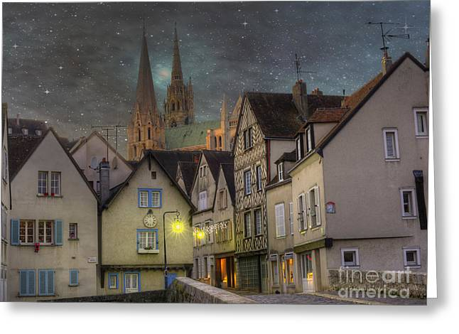 Chartres France Greeting Card