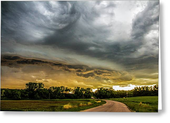 Chasing Nebraska Stormscapes 074 Greeting Card