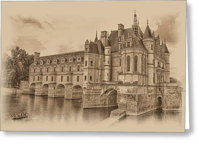 Chateau De Chenonceau Greeting Card
