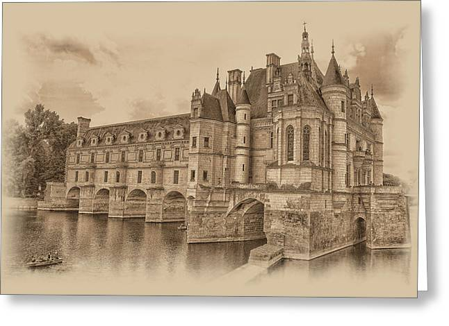 Chateau De Chenonceau Greeting Card