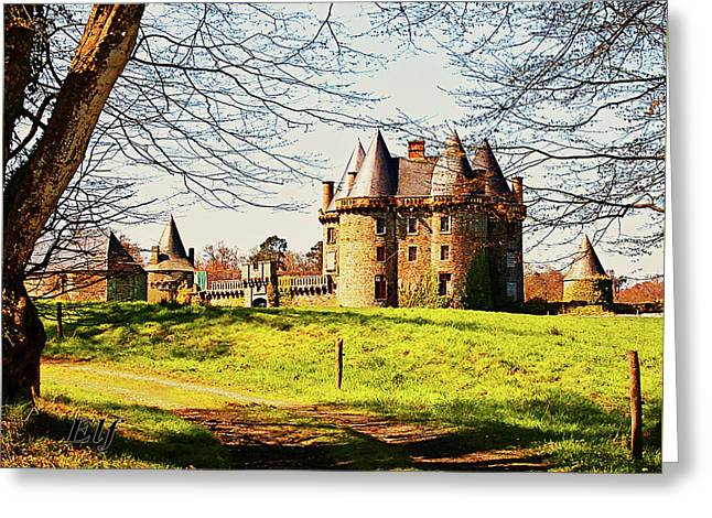 Chateau De Landale Greeting Card