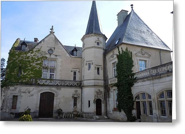 Chateau De Sainte Sabine Greeting Card