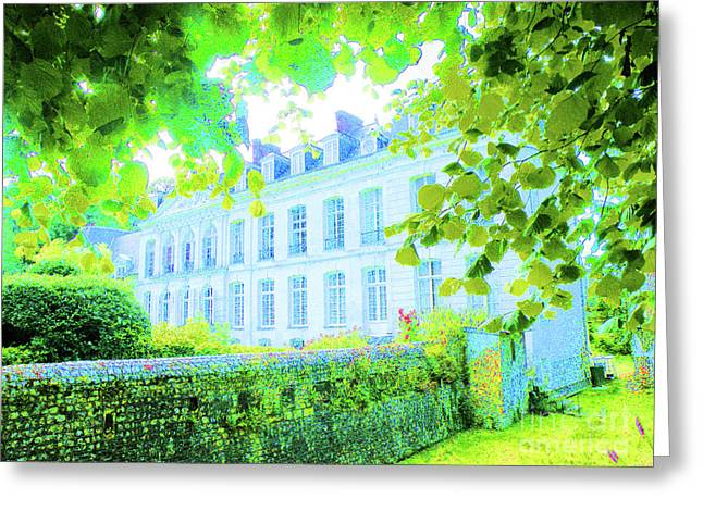Chateau Filieres Greeting Card