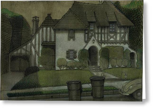 Chateau In The City Greeting Card