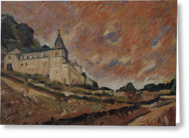 Chateau Neercanne Maastricht Greeting Card by Nop Briex