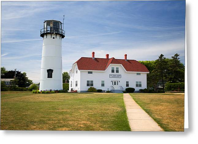 Chatham Lighthouse Greeting Card by Emmanuel Panagiotakis