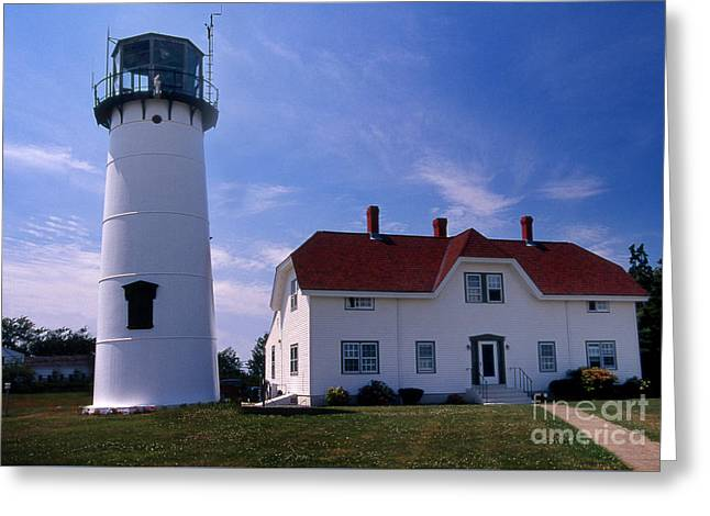 Chatham Lighthouse Ma Greeting Card