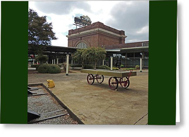 Chattanooga Choo Choo Historic Hotel Site Greeting Card by Marian Bell