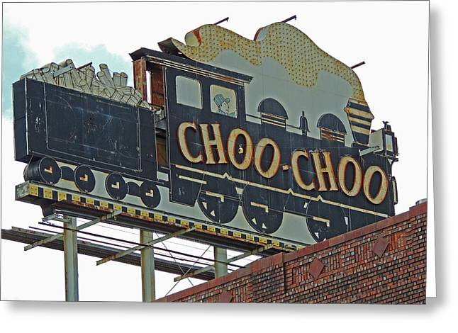 Chattanooga Choo Choo Sign Greeting Card by Marian Bell
