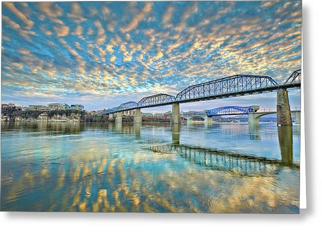 Chattanooga Has Crazy Clouds Greeting Card by Steven Llorca