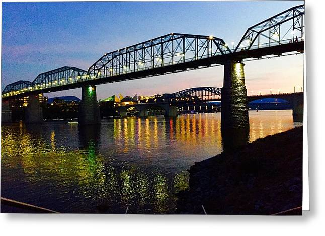 Chattanooga Nites Greeting Card