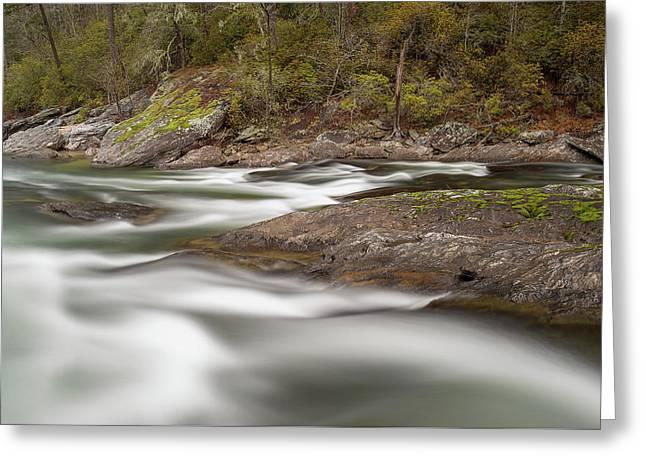 Chattooga River 23 Greeting Card by Derek Thornton