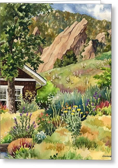 Chautauqua Cottage Greeting Card