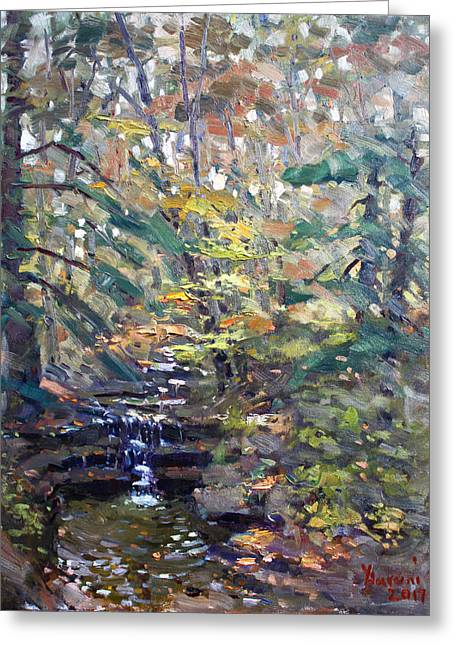 Chautauqua Gorge State Forest Greeting Card