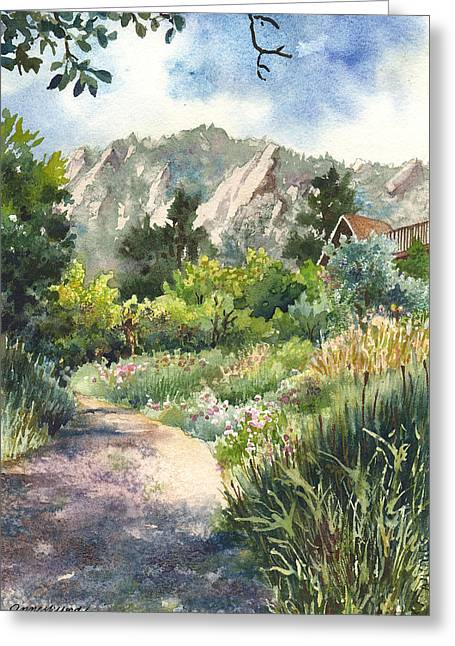 Chautauqua Morning Greeting Card