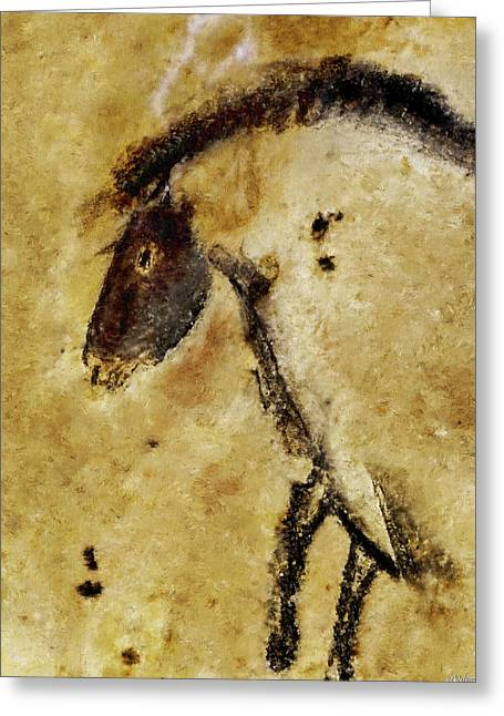 Chauvet Horse Greeting Card
