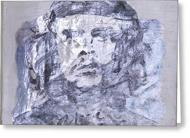 Che Guevara Greeting Card by Cindy Kellogg