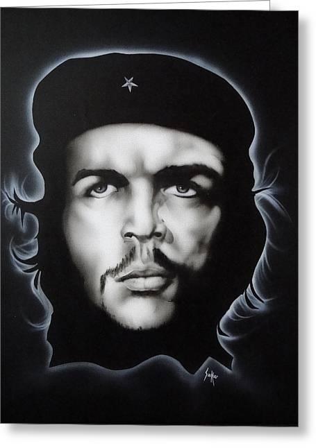 Che Guevara Greeting Card by Stephen Sookoo