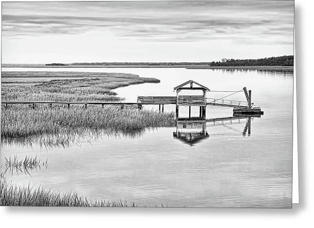 Chechessee Dock Greeting Card