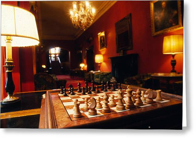 Checkmate At Dromoland Greeting Card by Carl Purcell