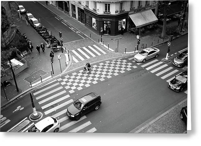 Checkmate, Paris Greeting Card