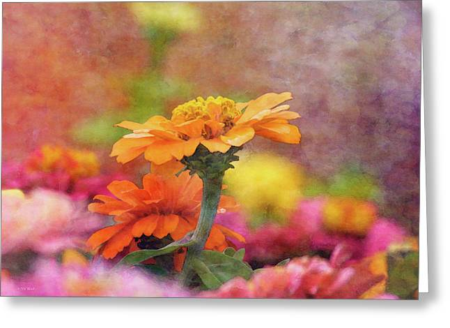 Cheerful Shades Of Optimism 1311 Idp_2 Greeting Card