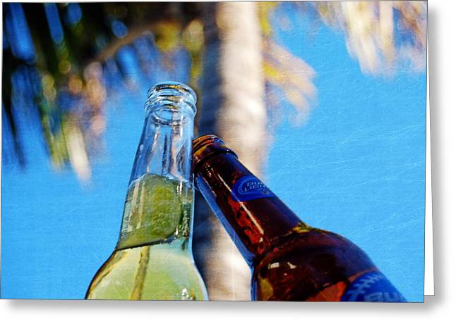Beer Cheers   Greeting Card by JAMART Photography