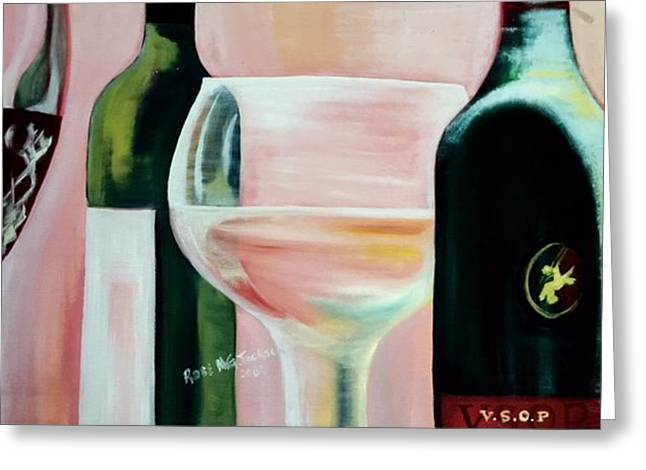 Cheers Greeting Card by Rose Jackson