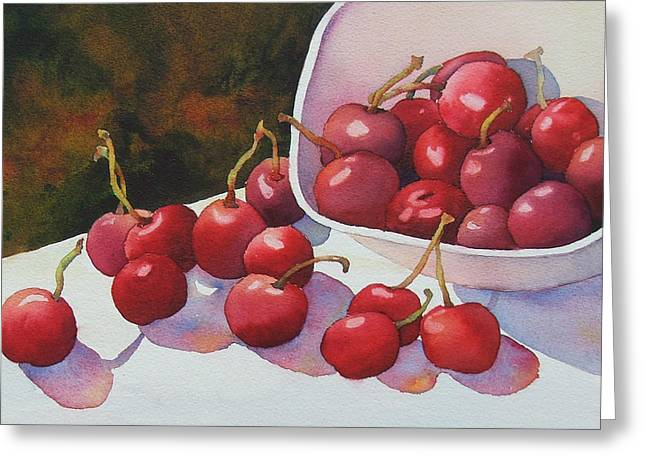 Cheery Cherries Greeting Card