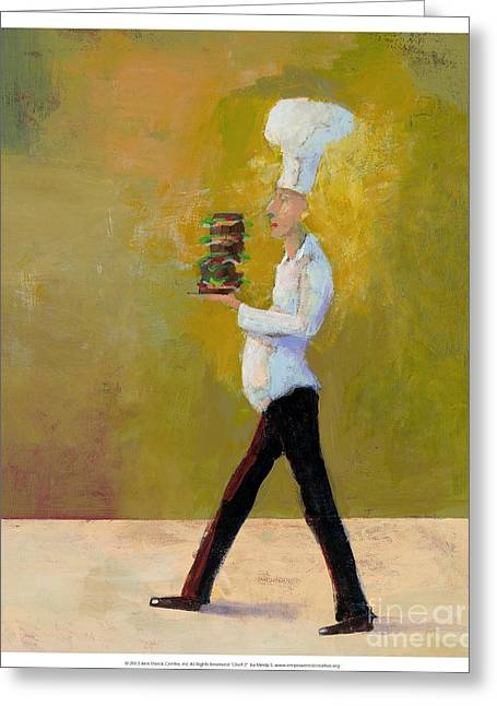 Chef 2  Greeting Card