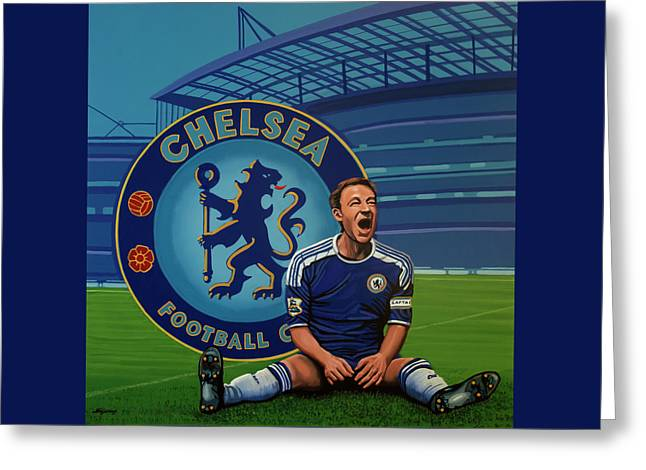 Chelsea London Painting Greeting Card