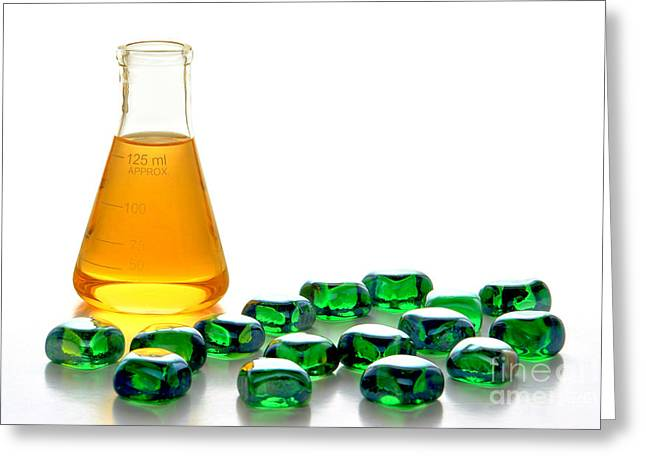 Chemical And Glass In Industrial Manufacturing  Greeting Card
