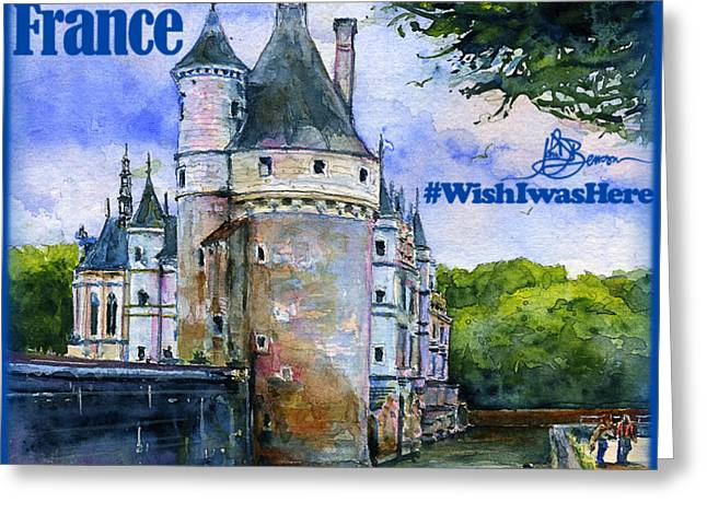 Chenonceau Castle Shirt Greeting Card